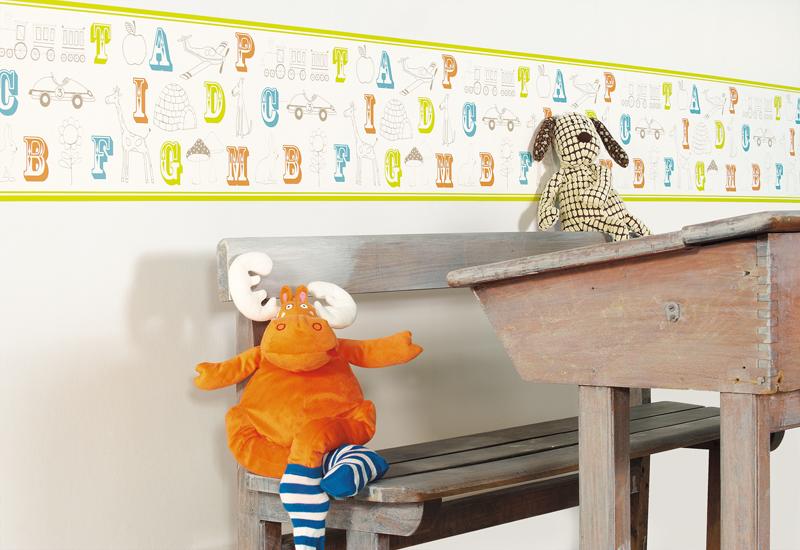 Papel Pintado Infantil Wonderland