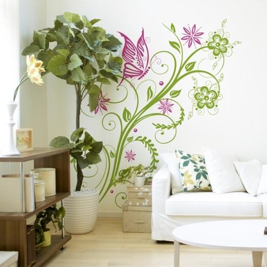 Vinilo Floral FL210 Diseños Alegre y Divertido