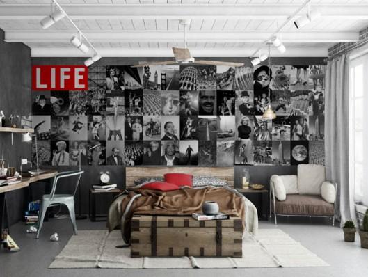 Fotomural Revista LIFE