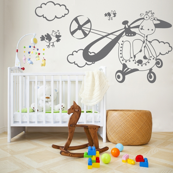 Vinilos infantiles papelpintadoonline for Vinilos decorativos pared infantiles