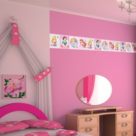 Cenefa Infantil Princesas Disney