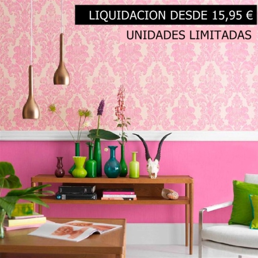 Papel pintado liquidacion papelpintadoonline for Papel de pared barato