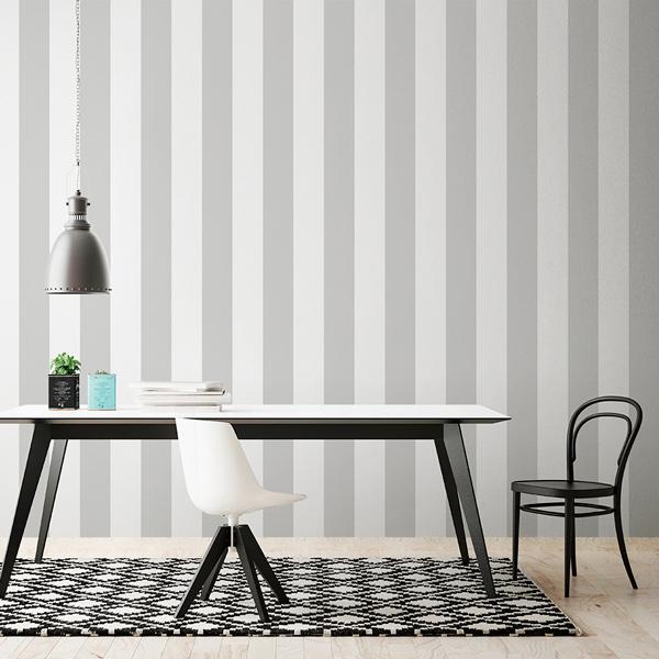 Papelpintadoonline papel pintado - Papel pared gris ...