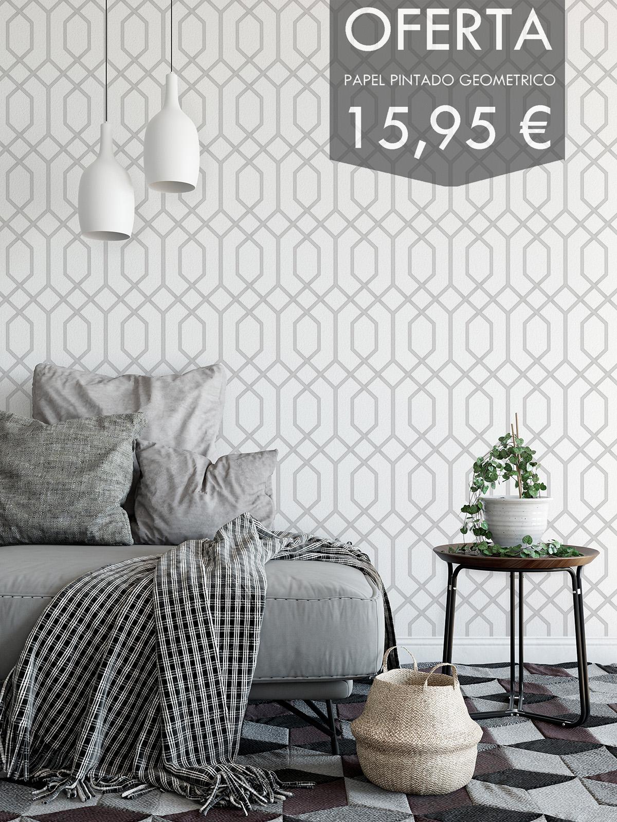Papel pared papelpintadoonline for Papel pintado oferta